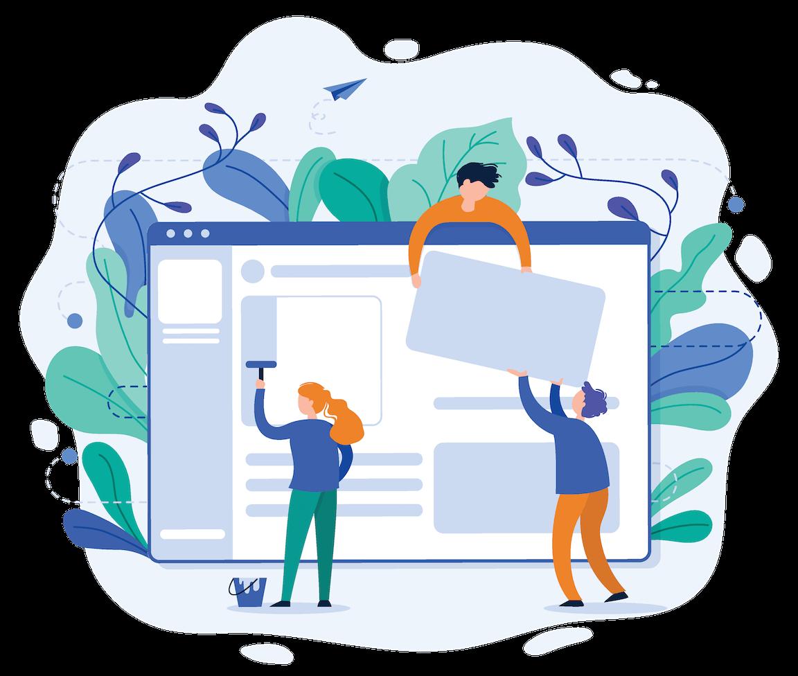 OneClimb Marketing Startseite Website erster Eindruck